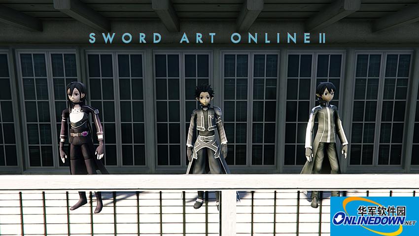 侠盗猎车5刀剑神域主角桐谷和人MOD