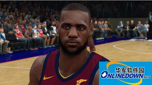 NBA2K18仿LIVE版詹姆斯面补