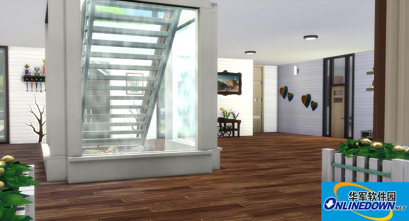 模拟人生4v1.31科技风现代简约别墅MOD