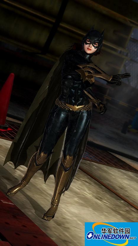 死或生5:最后一战超级英雄蝙蝠女套装MOD 1