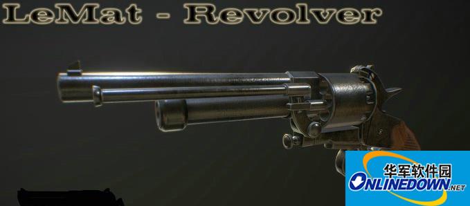 求生之路2LeMat左轮手枪MOD