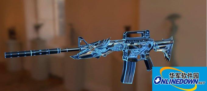 求生之路2变形金刚蓝光M4A1突击步枪MOD