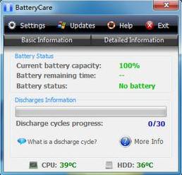 BatteryCare  汉化免费版 v0.9.29.2