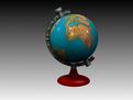 3D地球仪模型
