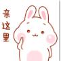 可爱兔微信表情...