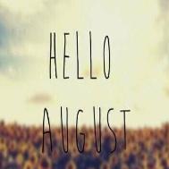 八月你好图片...