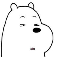 小熊翻白眼高清...