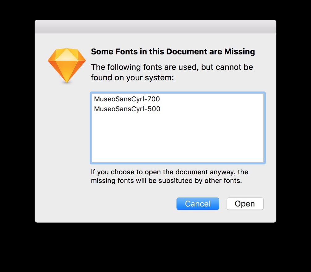 Sketch字体打包插件Font Packer