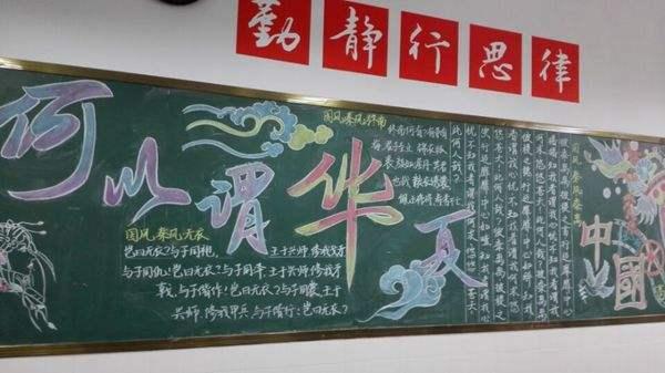 中华传统文化中国骄傲为主题的黑板报大全