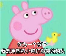 小猪佩奇表情包恶搞带字版