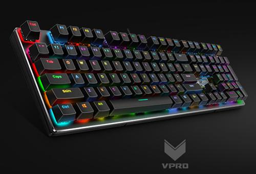 雷柏V700RGB合金版键盘驱动