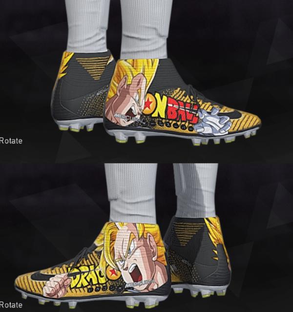实况足球2018龙珠球鞋补丁