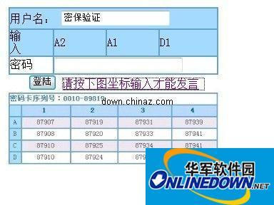明仔中文网の留言动态验证