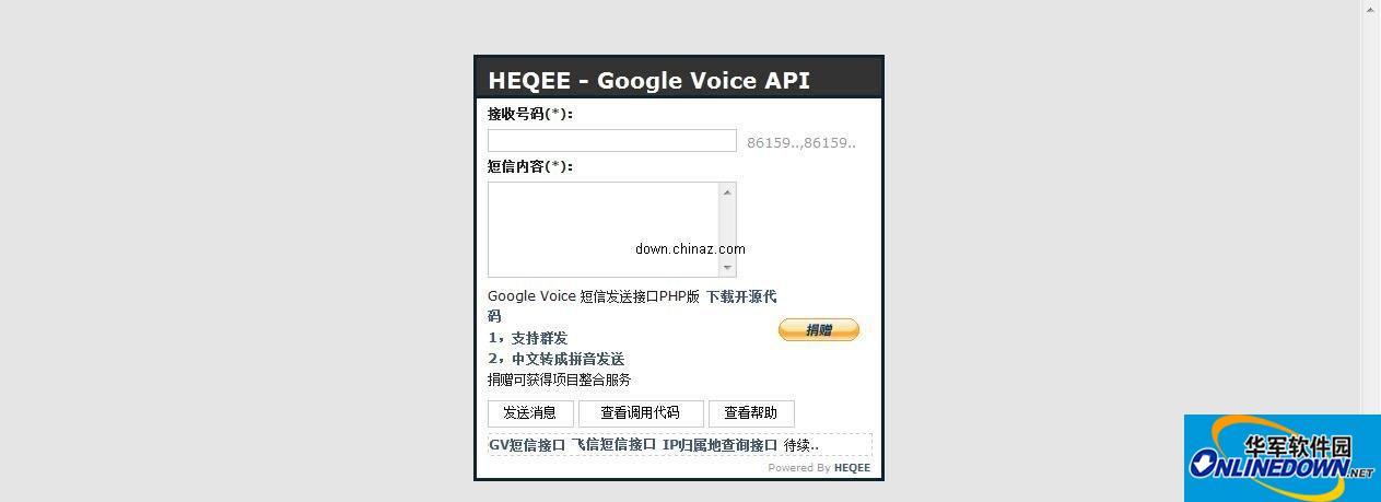 Google Voice 短...