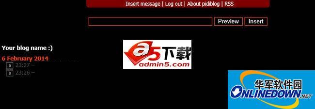 Pidiblog PC版