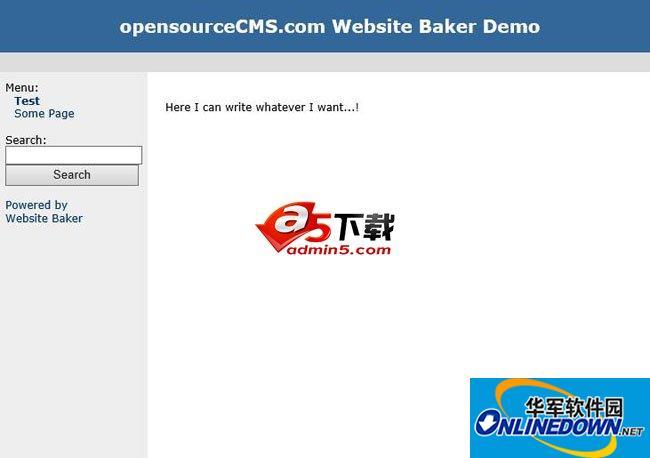 WebsiteBaker 内容管理系统 2.8.3 SP1