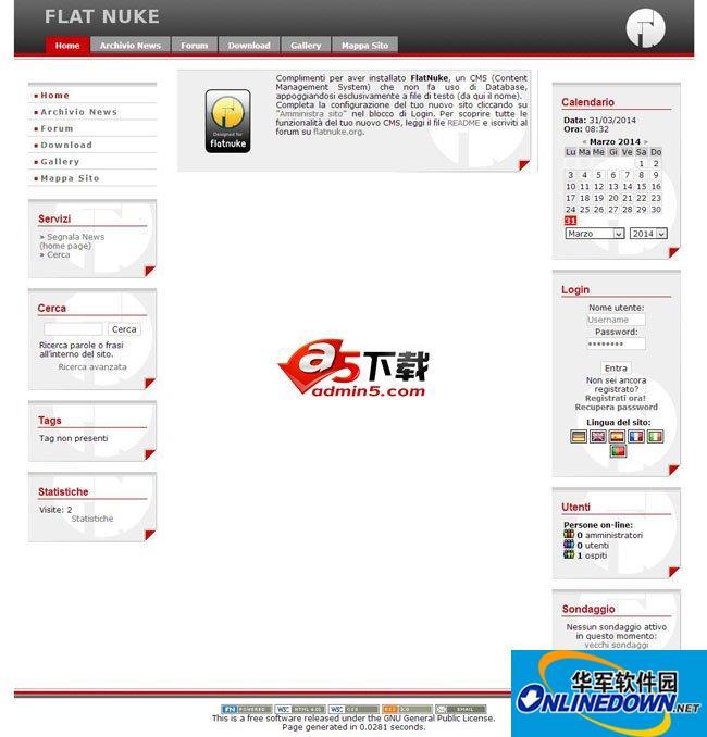 FlatNuke 内容管理系统 37625