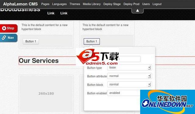 RedKite CMS 内容管理系统