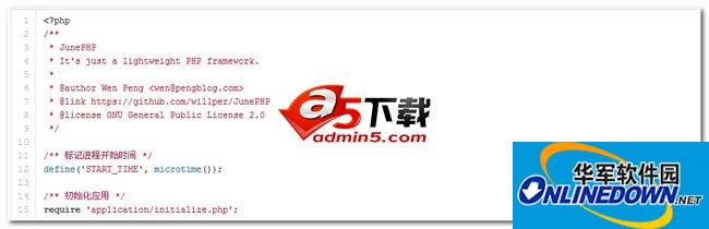 JunePHP php框架 36528