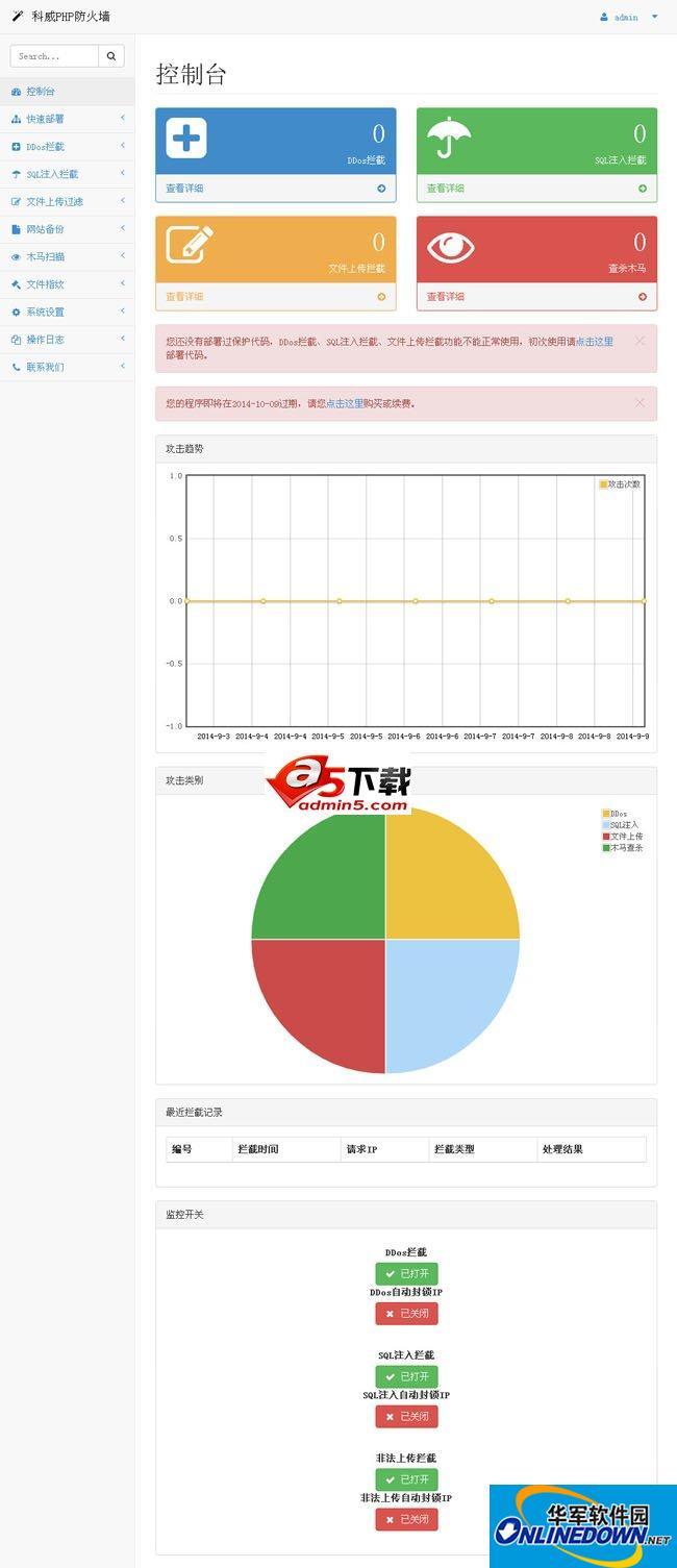 科威PHP防火墙 1.1 BETA UTF8