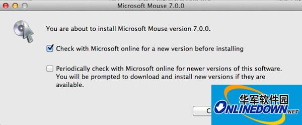 微软鼠标驱动 for mac