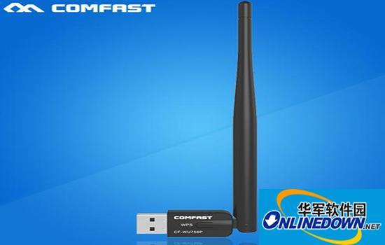 comfast cf-wu756p USB无线网卡驱动程序 for Mac V1001中