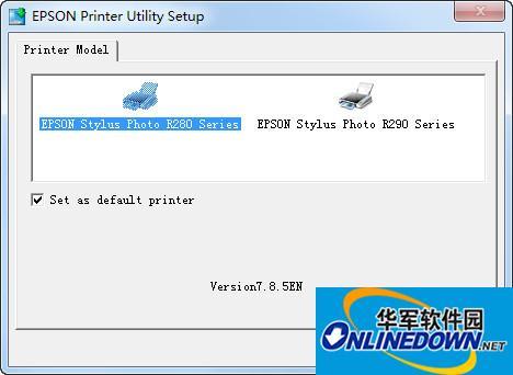爱普生Epson R280打印机驱动程序 32位