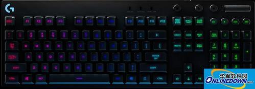 logitech罗技g810键盘驱动程序  v8.82.151 官方版