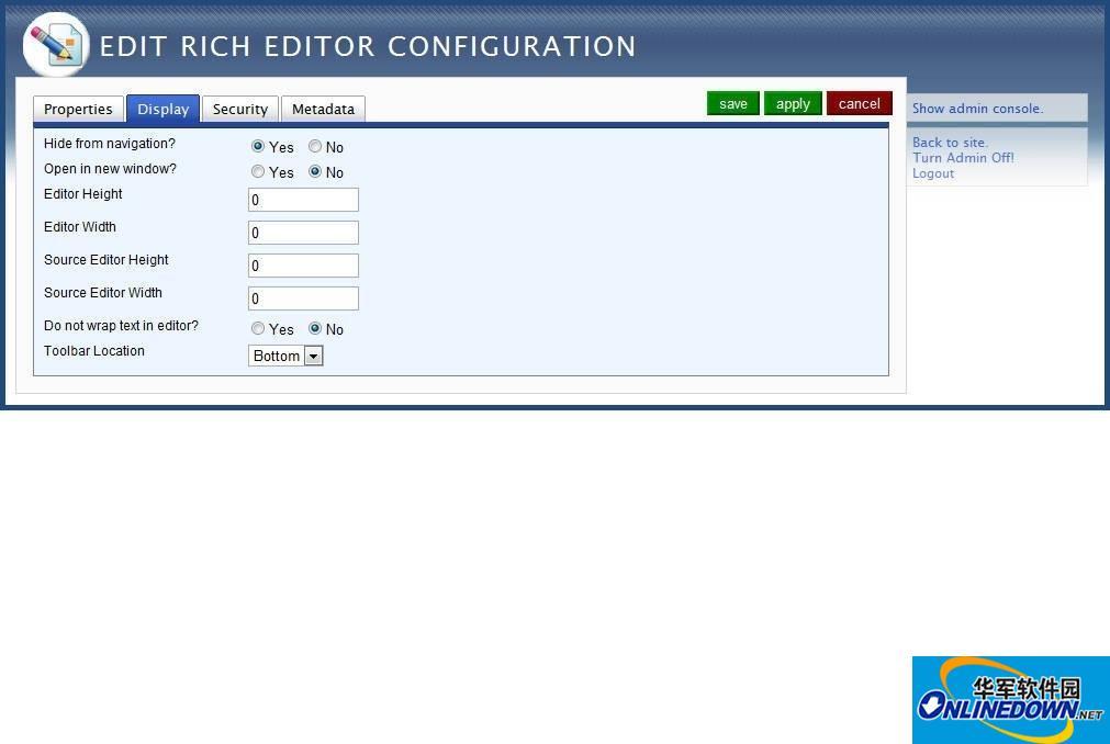 WebGUI 自助建站 智能建站平台