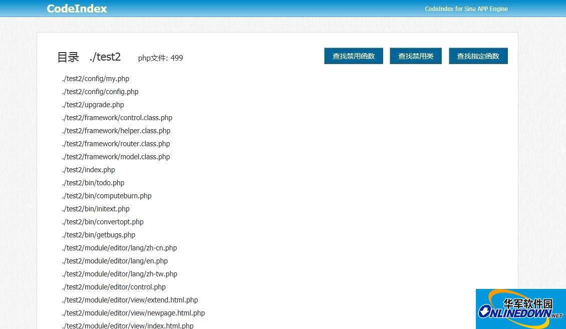 CodeIndex for SAE