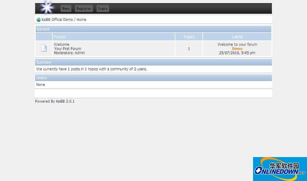 公告板系统 KaiBB 2.0.1