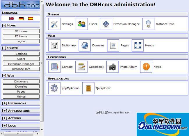 DBHcms