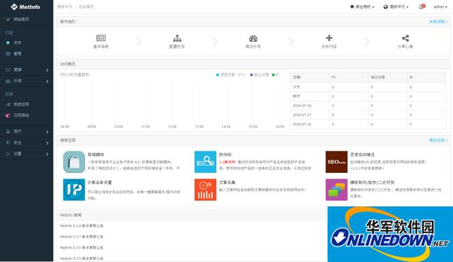 展示型企业通用米拓整站源码