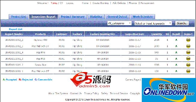 外贸验货报告系统