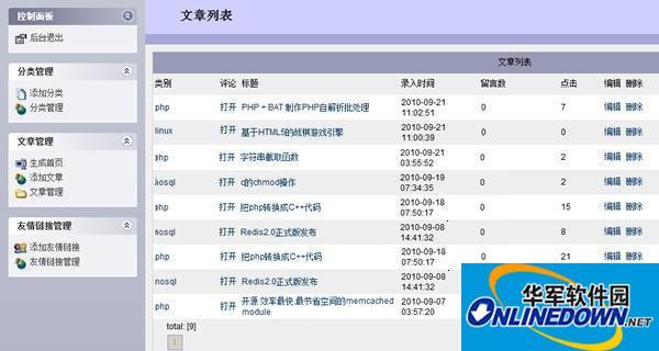 邓州论坛FastCGI博客系统 2