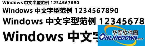 axisstd-heavy字体
