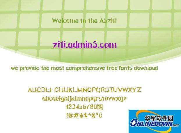 Quatroline字体下载 PC版
