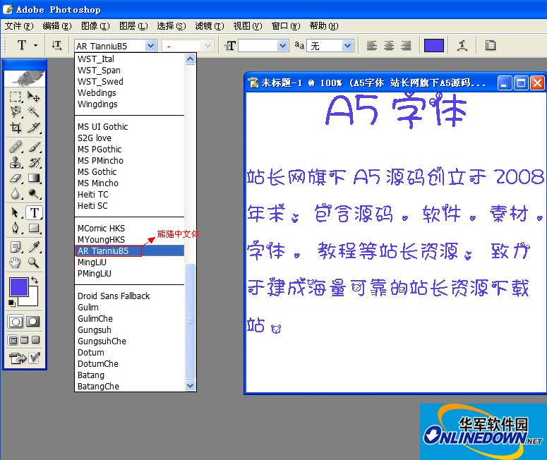 熊猫中文体