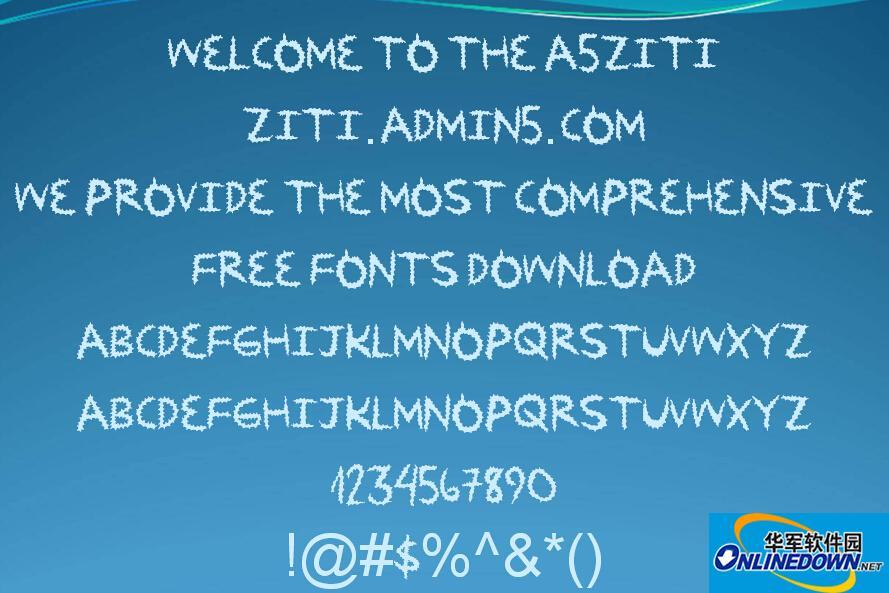 英文齿形ZipDown