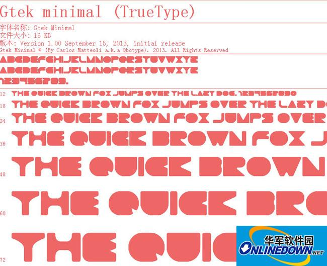 Gtek Minimal PC版