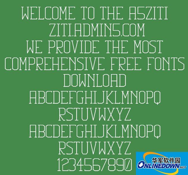 Squib Font PC版