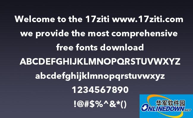 AvenirNextLTPro PC版