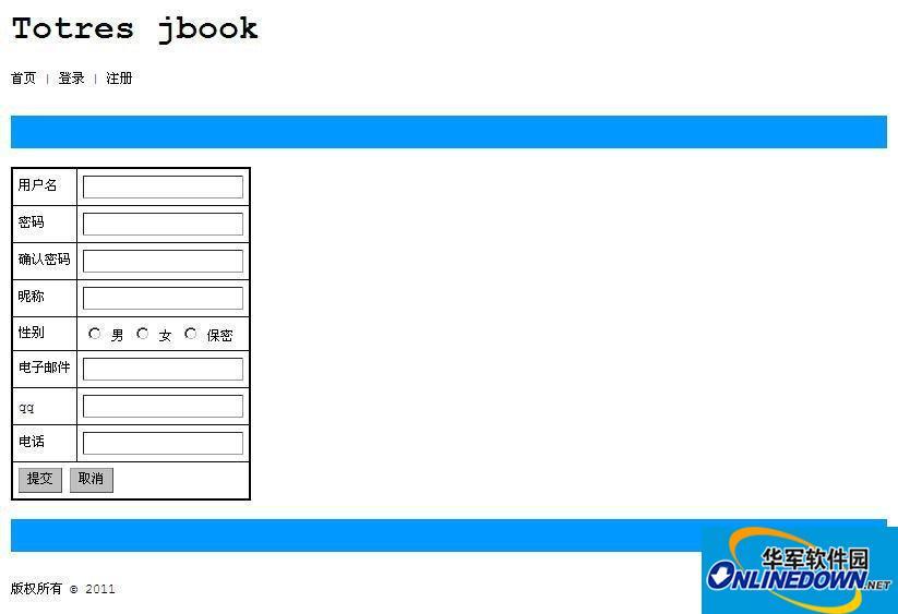 Totres Jbook 留言本