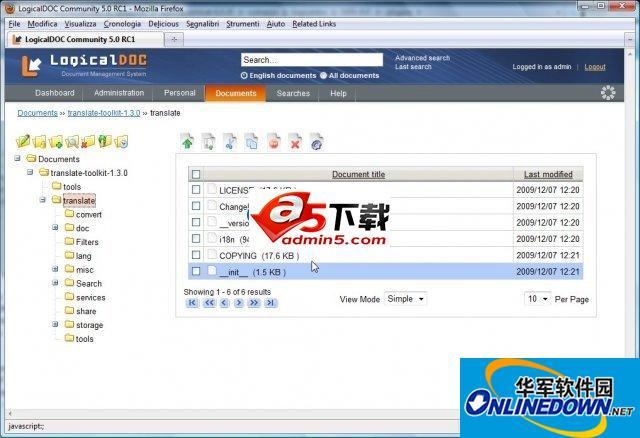 开源文档管理系统LogicalDOC 38933