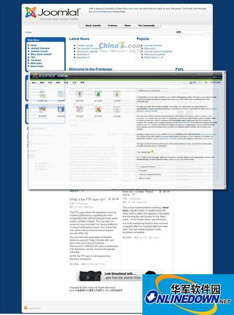 Joomla PHP内容管理系统英文版