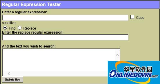 RegExTester 正则表达式测试器 web版本