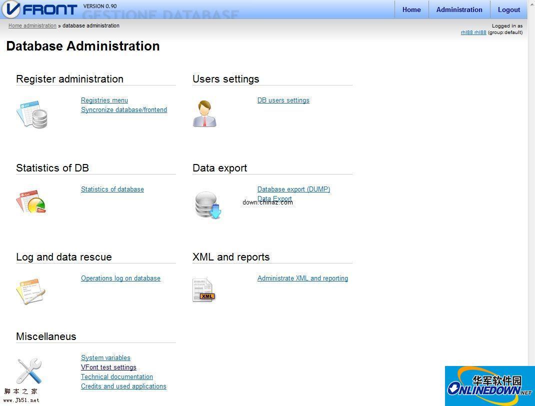 VFront MySQL与PostgreSQL数据库前端管理工具
