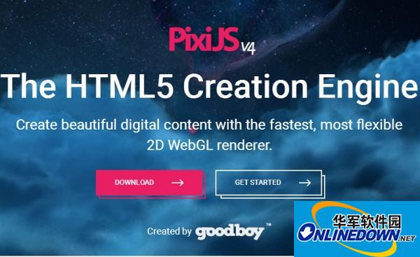 PixiJS V4 基于WebGL的超快HTML5 2D渲染引擎 PC版