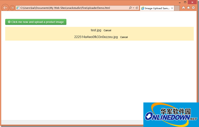 Fine Uploader ASP.NET MVC实现ajax文件上传