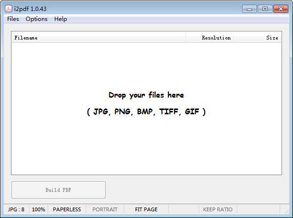 i2pdf(图片转PDF) v1.0.46绿色版
